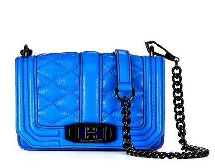 Rebecca Minkoff Mini Love Crossbody in Ultraviolet