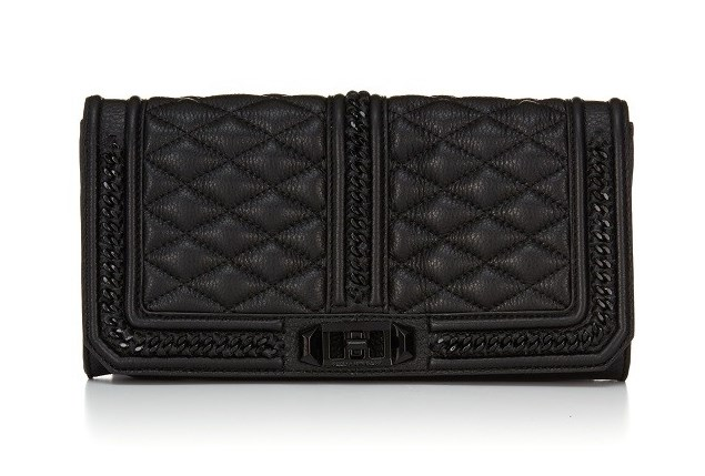 Rebecca Minkoff Love Clutch_black