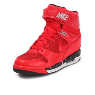 Nike Air Revolution Sky Hi - Action Red/Black Wolf/Grey/Action Red
