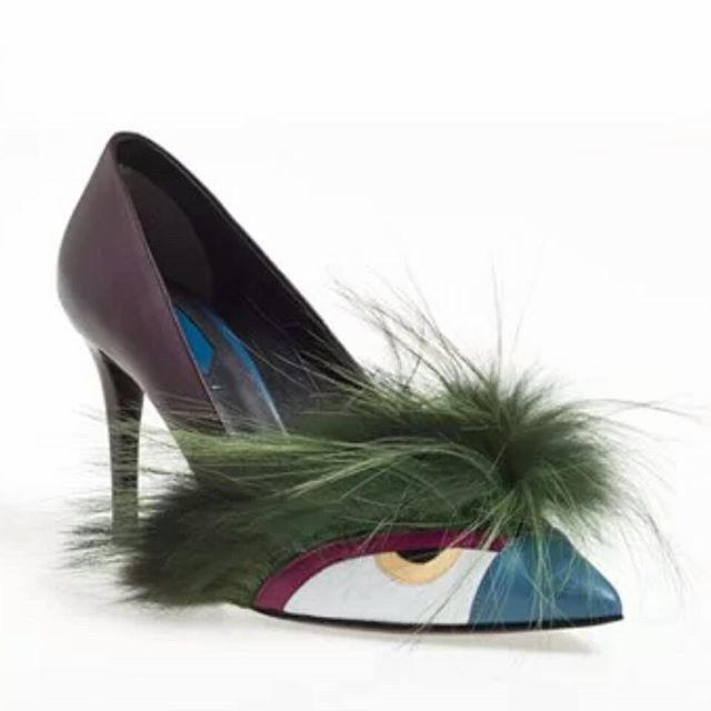 these Fendi bug pumps are simply amazing