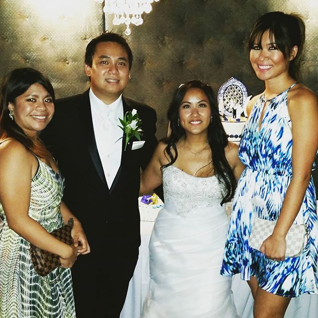 congrats to the newlyweds, thien & @lovelycasti!  [8.29.2015]