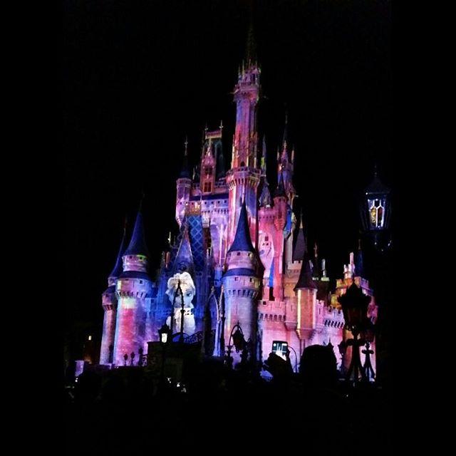Magic Castle at night