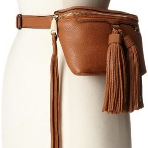 Rebecca Minkoff Tan Belt Bag with Tassles