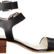 BCBG Roger Sandal - Black, interior side view