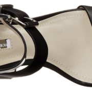 BCBG Roger Sandal - Black, top