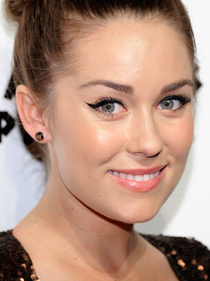 standard cat eye makeup - Lauren Conrad