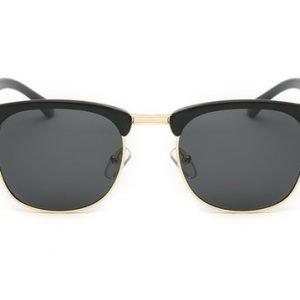 clubmaster sunglasses, black