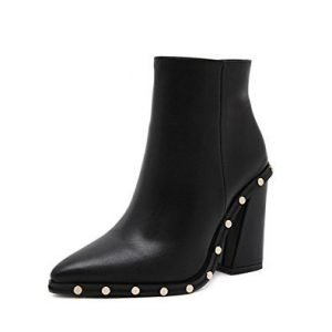 ankle-boot-black-rivets