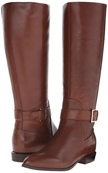 nine-west-single-stap-boot-dark-brown