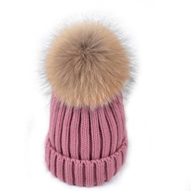 blush-pink-beanie-with-fur-pom-pom