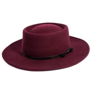 burgundy-wide-brim-hat