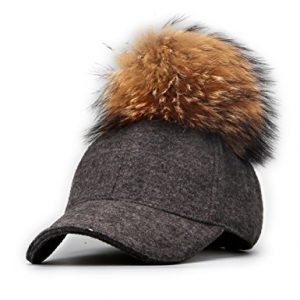 fur-pom-pom-baseball-cap-grey