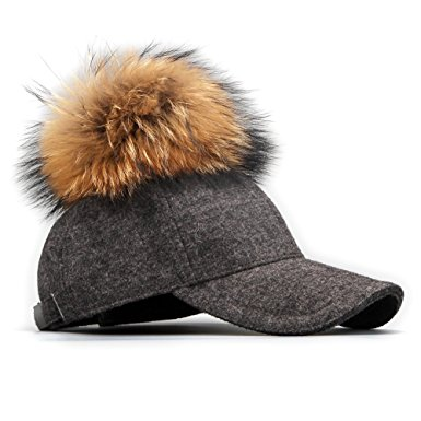 fur-pom-pom-baseball-cap-grey-side