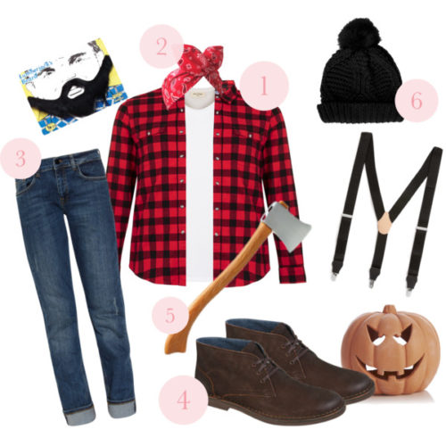 4) Lumberjack  sc 1 st  Cat Eyes u0026 Candy & 5 Cute and Easy Halloween Costume Ideas - Cat Eyes u0026 Candy - Fashion ...